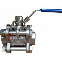 Quality Threaded NPT Soft Seated Ball Valve , Cast Stainless Steel Ball Valve 1000PSI wholesale
