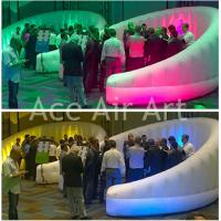 Quality new wonderful round inflatable led wall for business meeting,exhibition wholesale