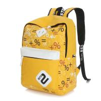 Quality backpack bags for girls for students canvas stylish day backpacks yellow wholesale