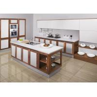 Quality Unassembled Modular White Modern Kitchen Cabinets Lacquer Door Waterproof wholesale