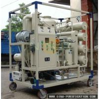 Quality High Vacuum Transformer Oil Purifier unit with Decompression Separation,Precise Filtration wholesale