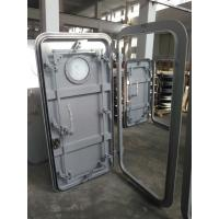 Buy cheap 1000×500--1800×900mm Marine Weathertight Single - leaf Steel Doors product