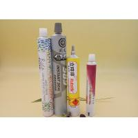 China 13.5 - 40 Mm Dia Aluminum Tubes Packaging, Pharmaceutical Gel Container Tube on sale