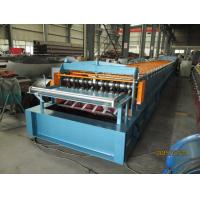 Quality Automatic Metal Deck Roll Forming Machine / Steel Deck Roll Former wholesale