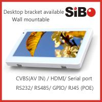 Quality Android Based Home Automation Customized 7 Inch Wall Mount Industrial Touch Panel With POE wholesale