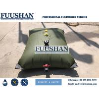 Quality Fuushan 1000L-500000L PVC Pillow Collapsible Bladder Water Tank Flexible Inflatable PVC Pillow Water Storage Tanks wholesale