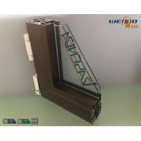 Quality Construction AA6063 T5 Aluminium Window Profiles / Wood Aluminum Structural Shapes wholesale