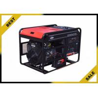 Open Frame Portable Power Generator In Red , 6 Kw Diesel Power Generator With