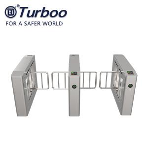 Quality RS485 Swing Barrier Gate Access Control Turnstile With Face Recognition wholesale