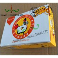 China Double Wall Cardboard Food Packaging Boxes , Disposable Cardboard Burger Boxes on sale