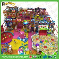 China Professional Kids Sports Indoor Play Equipment with Tube Slide and big ball pool for  KFC for sale