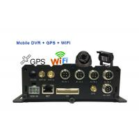 Digital Video Recorder DVR For SecurityCameras , Mobile DVR With GPS Tracking