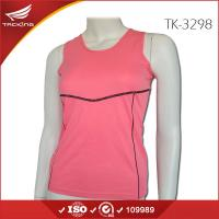 China 2015 Newest Women running apparel gym vest on sale