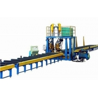 China Stable Speed T Type Submerged Arc Welding H Beam Production Line on sale