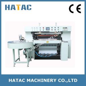 Cash Register Reel Slitting Machine,Thermal Paper Slitting Rewinding Machine,Fax Paper Roll Making Machine