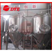 Quality 1000L Industrial Beer Brewing Equipment With Pressure Relief Valve wholesale
