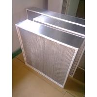 Quality Box Type High Temperature Air Filter , Oven Fan Filter For Food Processing Plants wholesale