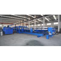 China Electricity / Air Circulate Heated Polyurethane Sandwich Panel Manufacturing Line on sale