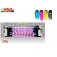 Quality Double Vision Fabric Plotter / Large Format Textile Printer For Flag CE Certification wholesale