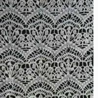 Quality Embroidered Lace Fabric, Customized Colors and Designs are Accepted wholesale