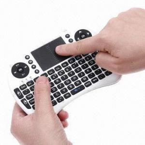 Quality 2.4GHz Rii Mini i8 2.4G Wireless Keyboard with Touchpad/Google