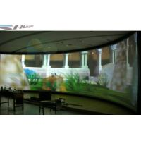 Quality 4D Flat / Arc / Curvature Screen Cinema With Special Effect Simulator System wholesale
