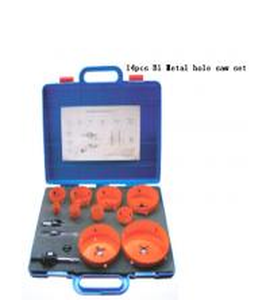 China JWT 14PCS M42 HSS-Bi Metal Hole Saw-professional manufacture on sale