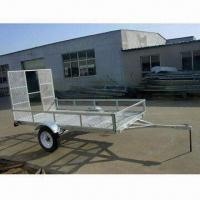China ATV Trailer with 750kg Load Capacity and Hot-dipped Galvanized Finish, Measures 2,800 x 1,550mm on sale