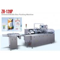 Quality PLC Control ZH 120P Automatic Cartoning Machine for Small Medicine Bottle wholesale