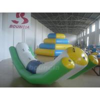 Quality 4mL*1.2mW Inflatable Floating Water Totter For Water Games wholesale