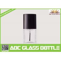 Quality High quality 18ml clear glass bottle with screw cap for nail polish wholesale