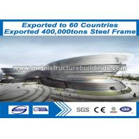 Buy cheap Structural Steel Frame Buildings Heavy Steel Frame Fabrication Pest Resistant from wholesalers