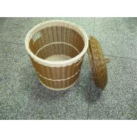 Quality Plastic Round Wicker Laundry Basket wholesale
