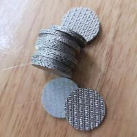 China Perforated Metal Sintered Wire Mesh 5cm-100cm Width Good Permeability on sale