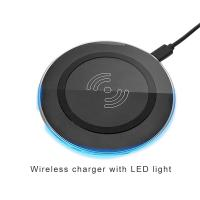 Quality Fast universal qi wireless mobile charger pad mobile phone accessories charger for samsung for iphone wholesale