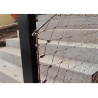 Quality Stainless Steel X-Tend Wire Rope Mesh,Rope Netting,Wire Mesh Nets wholesale
