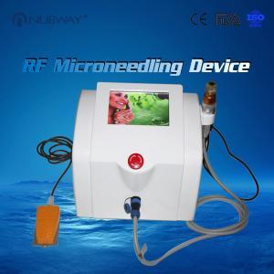 China High Efficiency Professional Microneedling Machine , RF Skin Tightening Machine on sale