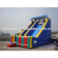China Commercial Inflatable Slide With Panda Cartoon Used For Party And Holiday on sale