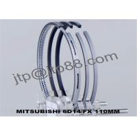 China Diameter  110.0MM Engine Piston Rings , 6 CYL Piston Ring Sets OEM ME032071 on sale