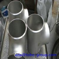 Quality 12 Inch Sch40 Butt Weld Fittings Stainless Steel Equal Tee WPS33228 wholesale