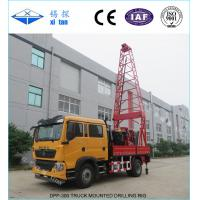 Quality DPP-300 Truck Mounted Drilling Rigs with Torque 3500N.m wholesale
