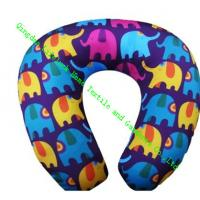 China Kids U Shaped Travel Neck Pillow , Soft Foam Neck Pillow For Airplane Travel on sale