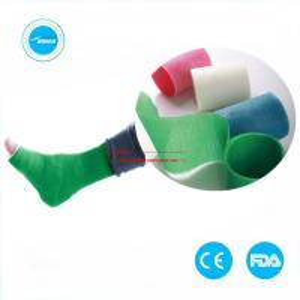 Quality Medical Consumable cast bandage Fiberglass Casting Tape Polyester Orthopedic Cast Tape Manufacturers wholesale