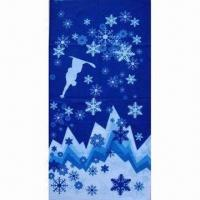 Quality Snowflake Multifunctional Bandana, Durable/Fresh Color/colorfast, Breathable/Wind Resistance/Warm wholesale