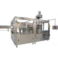 Quality 200ml - 2L Automatic Bottle Filling Machine , PET Bottle Carbonated Drinks Filling Line wholesale