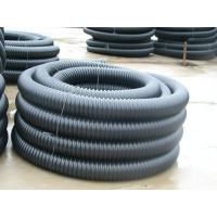 Quality good quality low price pe carbon plastic spiral corrugated conduit pipe machine extrusion line production for sale wholesale