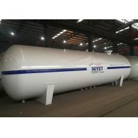China Large Lpg Bulk Storage Tank , 30 Tons 65CBM Liquid Propane Gas Tank  For Gas Filling Plant on sale