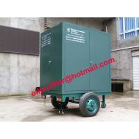 Quality Onsite maintenance transformers Oil Purification Machine, mobile insulation oil refinery wholesale