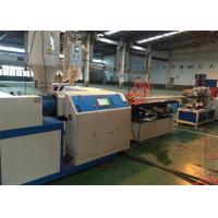 China Single Wall Corrugated Conduit Plastic Pipe Extrusion Line 380V 50HZ on sale