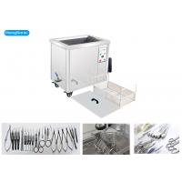 Quality Single Phase Medical Ultrasonic Cleaning Machine With 1.5KW Heating Power 38L wholesale